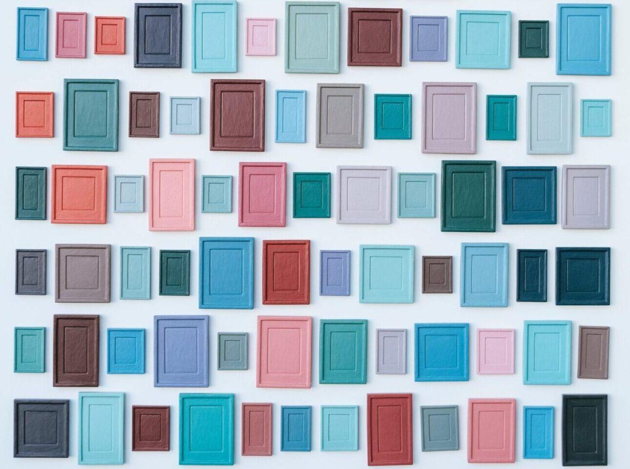 CORNICI COLORATE, frames